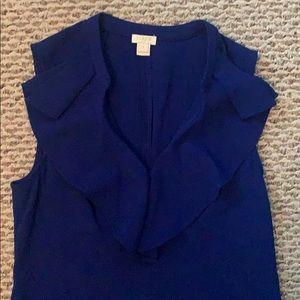 J. Crew Factory Dresses - Jcrew Factory Crepe ruffle-neck dress